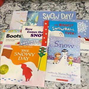 10 Snowman & Snow Kids Books